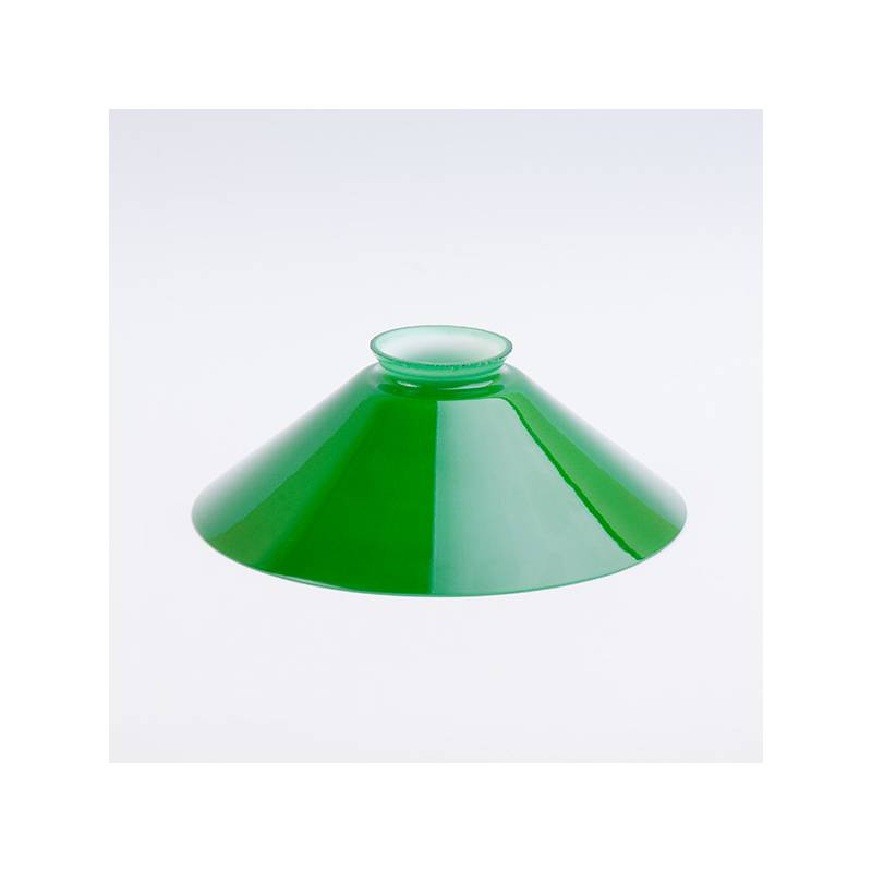 Opal glass painted lampshade 4307