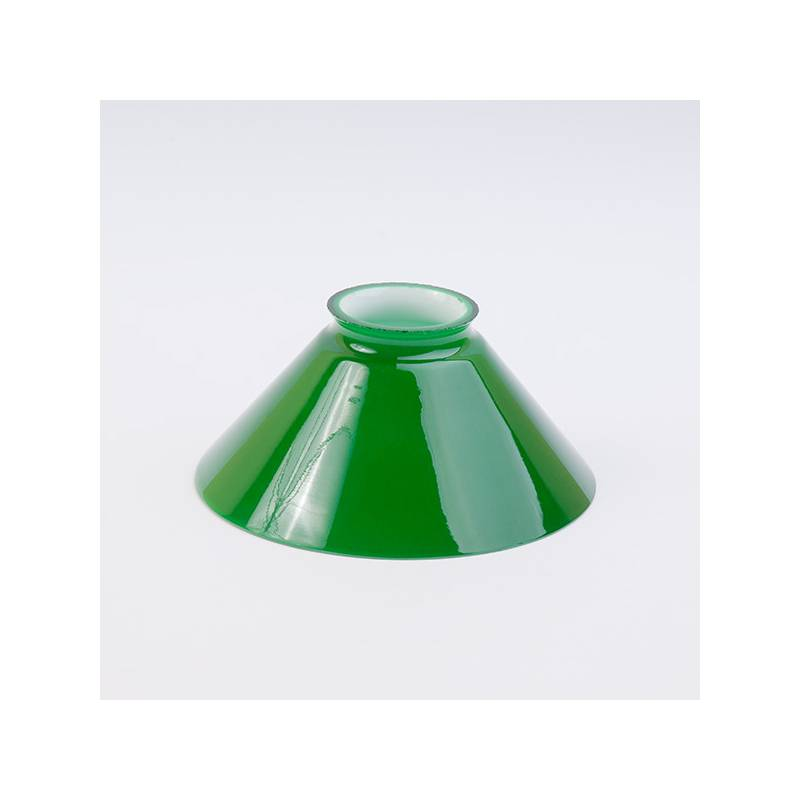 Opal glass painted lampshade 4310 - d. 150 mm