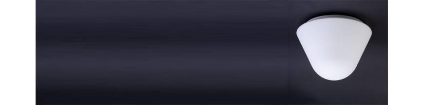 Oprawy oświetleniowe z kloszami opalowymi