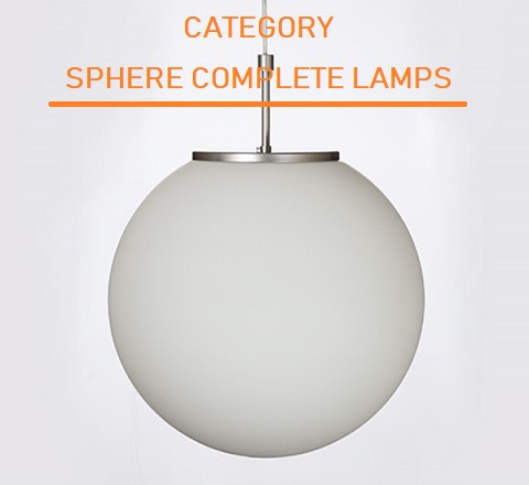 SPHERE COMPLETE LAMPS