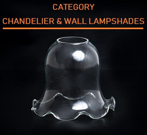 CHANDELIERS AND WALL LAMPSHADES