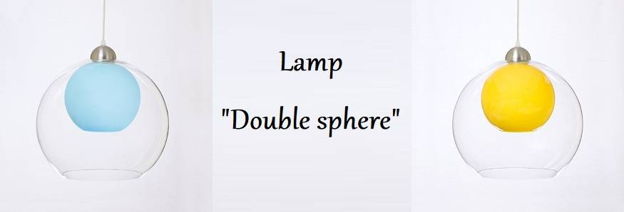 "Lamp ""Double sphere"""